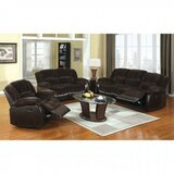Sirabella Reclining 60 Pillow top Arm Loveseat by Red Barrel Studio®