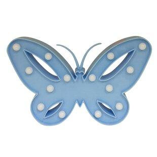 Price Check Kiernan Butterfly 10 Table Lamp By Zoomie Kids