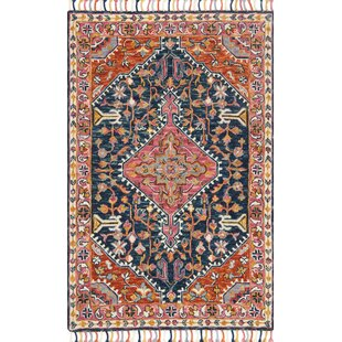 Budget Jovany Hand-Hooked Wool Pink Area Rug By Mistana