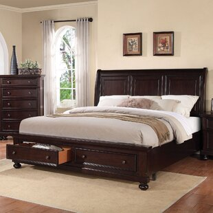 Stewardson Storage Sleigh Bed