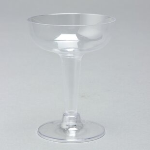 Plastic Disposable Wine and Champagne Glass (Set of 480)