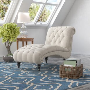 Best Price Forestport Traditional Rolled Back Chaise Lounger with Diamond Shaped Tufting by Alcott Hill Reviews (2019) & Buyer's Guide
