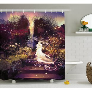 Goddess Decor Shower Curtain + Hooks