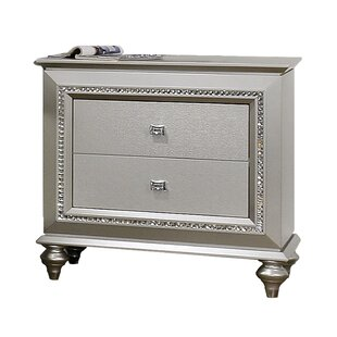 Echols 2 Drawer Nightstand