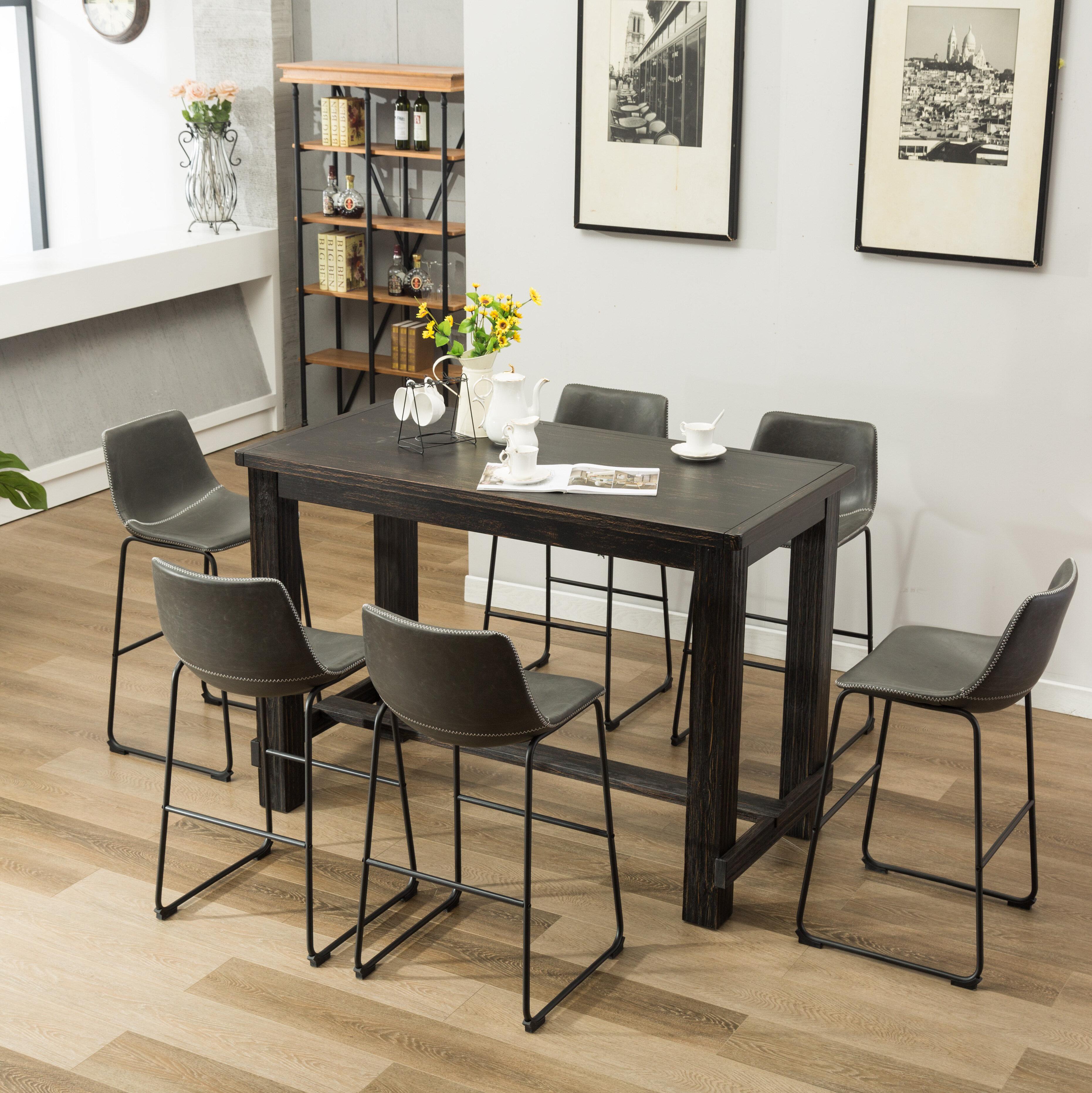 Merveilleux Trent Austin Design Bamey 7 Piece Pub Table Set U0026 Reviews | Wayfair
