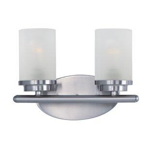 Compare & Buy Callender 2-Light Vanity Light By Latitude Run