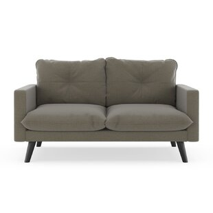 Rocky Hill Oxford Weave Loveseat by Brayden Studio Best #1