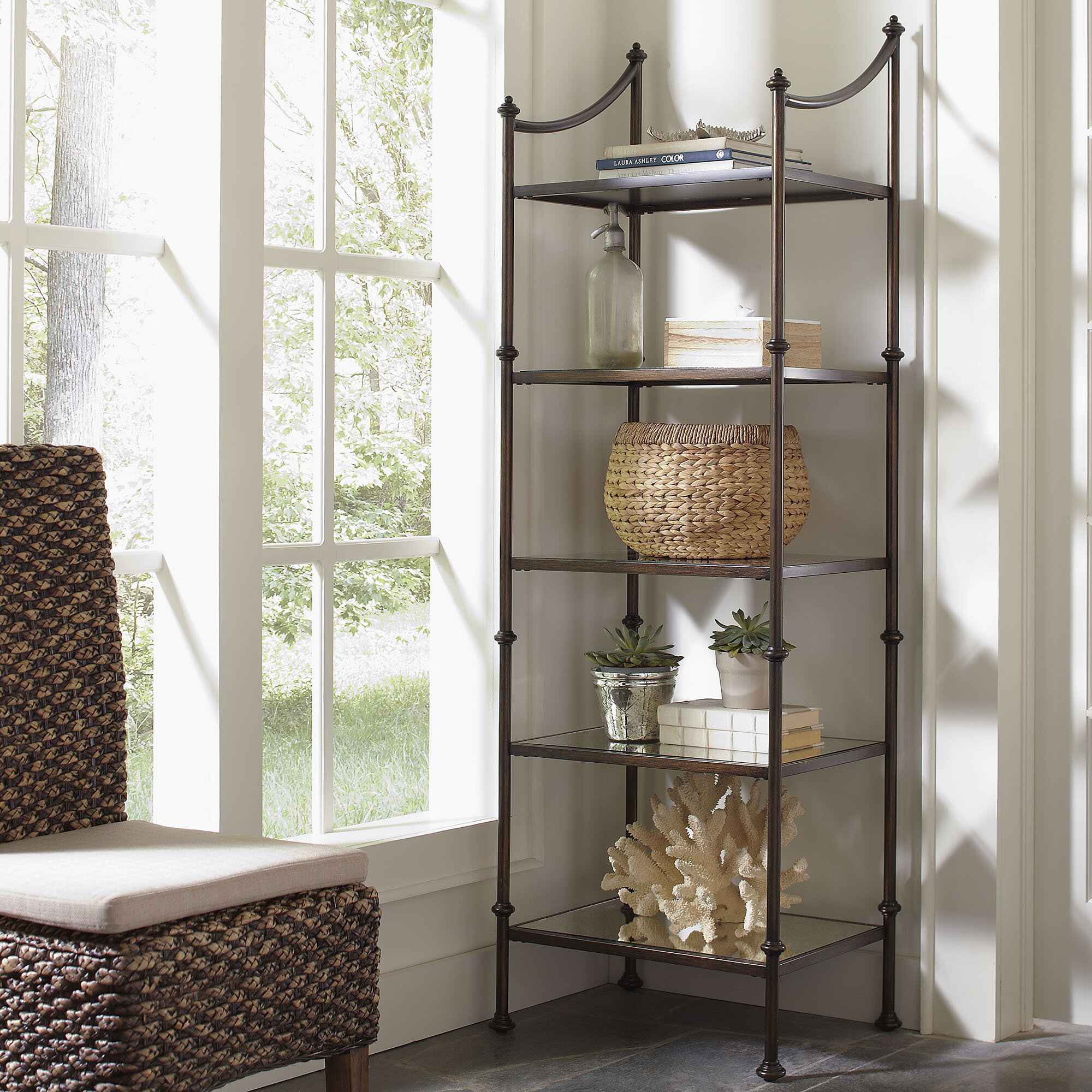 Caldwell Etagere Bookcase