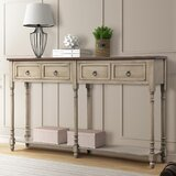 57.87 Solid Wood Console Table by August Grove®