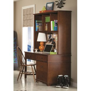 Reviews Williamsport Writing Desk with Hutch and Bow Back Desk Chair ByLatitude Run