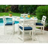 La Casa Café Dining Set with  Sunbrella Cushions