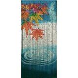 Jaymie Water Ripple Bamboo Beaded Single Curtain Panel