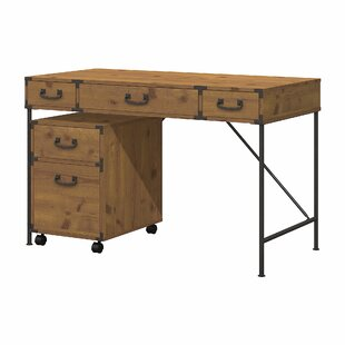 Ironworks 2 Piece Desk Office Suite
