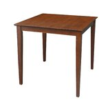 Cornman Solid Wood Dining Table by George Oliver