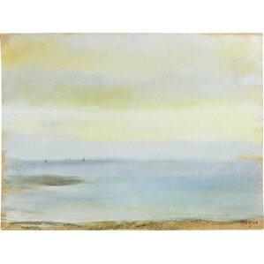 Marine Sunset by Edgar Degas Framed on Canvas