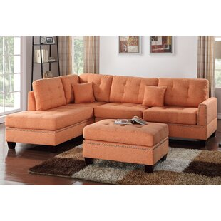 Romulus Sectional with Ottoman