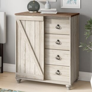 Theus 4 Drawer Gentleman's Chest by Charlton Home