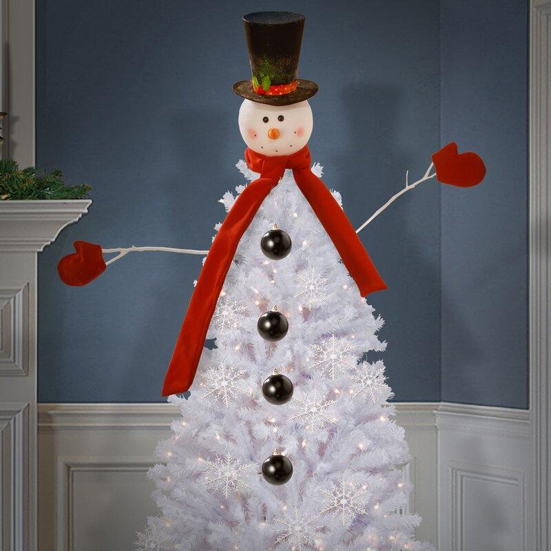 The Holiday Aisle 21 Piece Snowman Kit Tree Dress Up ...