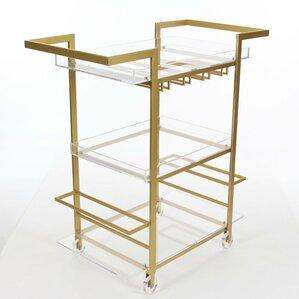 Lansdale Uniquely Designed Acrylic Bar Ca..