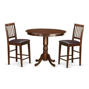 Trenton 3 Piece Pub Table Set