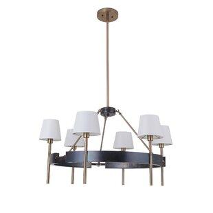 Brinsley 6-Light Shaded Chandelier by Willa Arlo Interiors