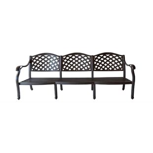 Online Purchase Nola Aluminum Sofa with Cushions Reviews