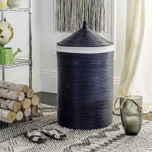 Purchase Rattan Storage Hamper With Liner By Mistana