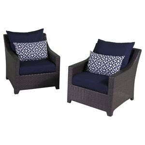 Northridge Chair with Cushions (Set of 2)