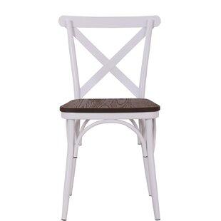 Quam Cross Back Dining Chair (Set of 2)