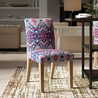 Alfaro Upholstered Dining Chair by Bungalow Rose SKU:EA422731 Check Price