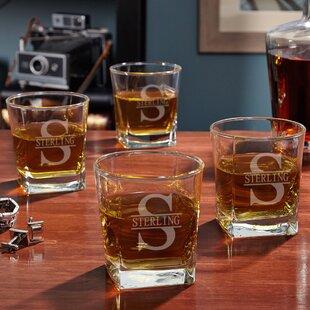 Oakmont Custom Rutherford 10 oz. Whiskey Glass (Set of 4)