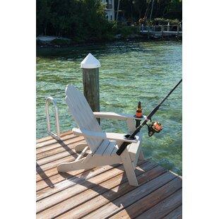 Krebs Plastic Folding Adirondack Chair by Loon Peak