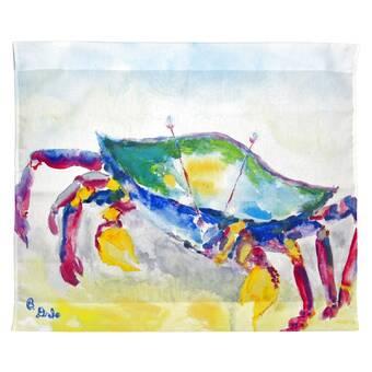 Highland Dunes Polyester Colorful Fiddler Crab Wall Hanging Wayfair