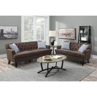 Read Reviews Jackson Heights 2 Piece Living Room Set by Alcott Hill Reviews (2019) & Buyer's Guide