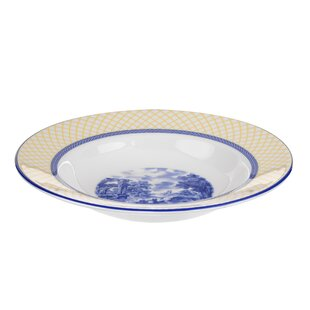 Giallo Rim Soup Bowl (Set of 4)  sc 1 st  Wayfair & Soup Bowl And Plate Set | Wayfair