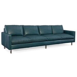 Pierce Leather Sofa by Bradington-Young