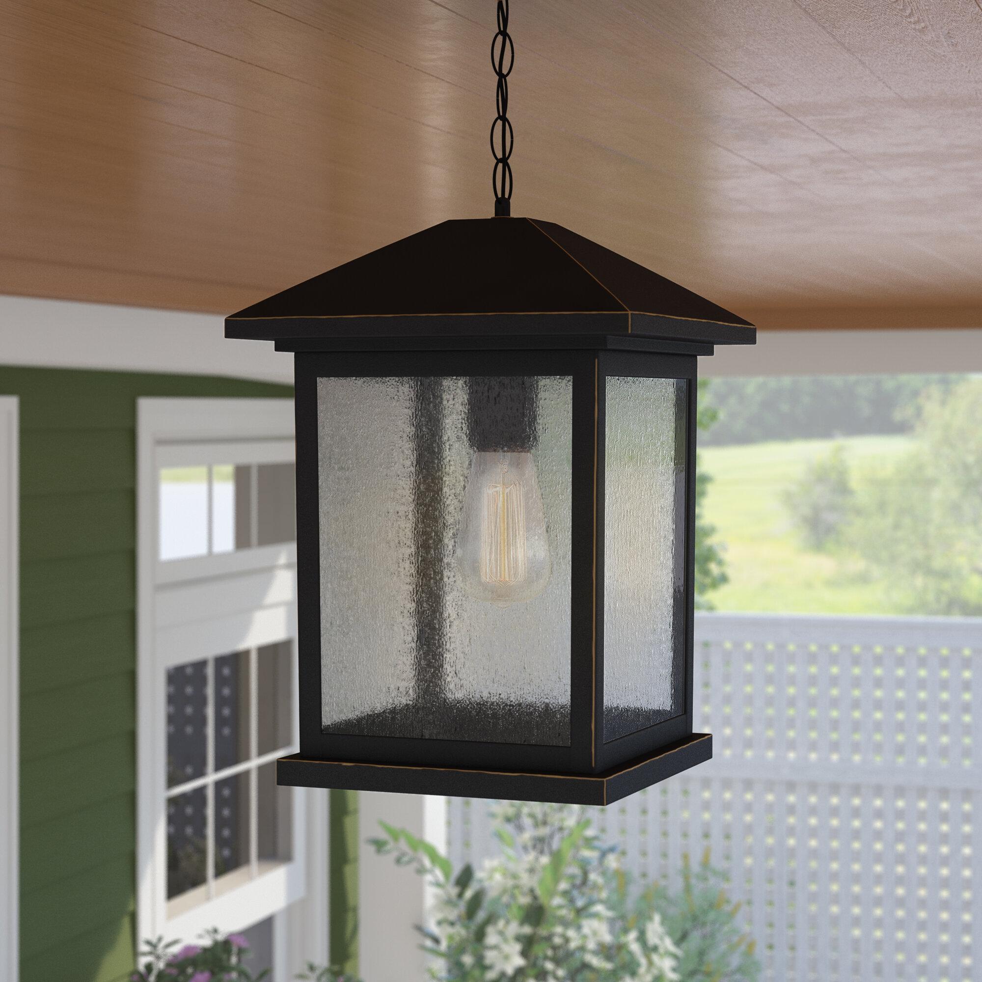 Sol 72 Outdoor Lovette 1 Light Outdoor Hanging Lantern Reviews Wayfair