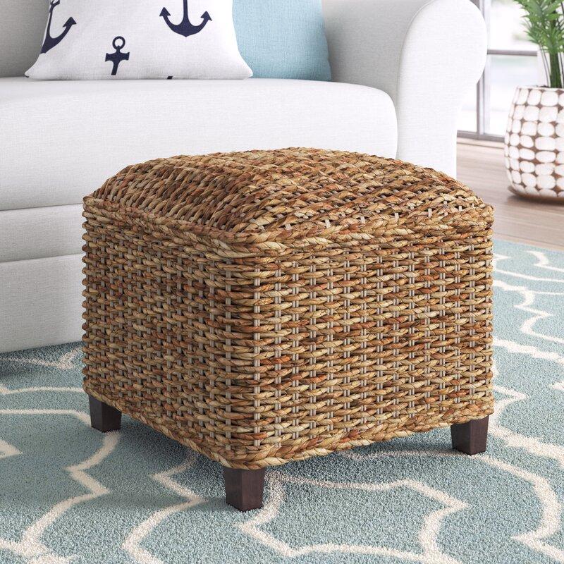 adrianna 18 square cube ottoman
