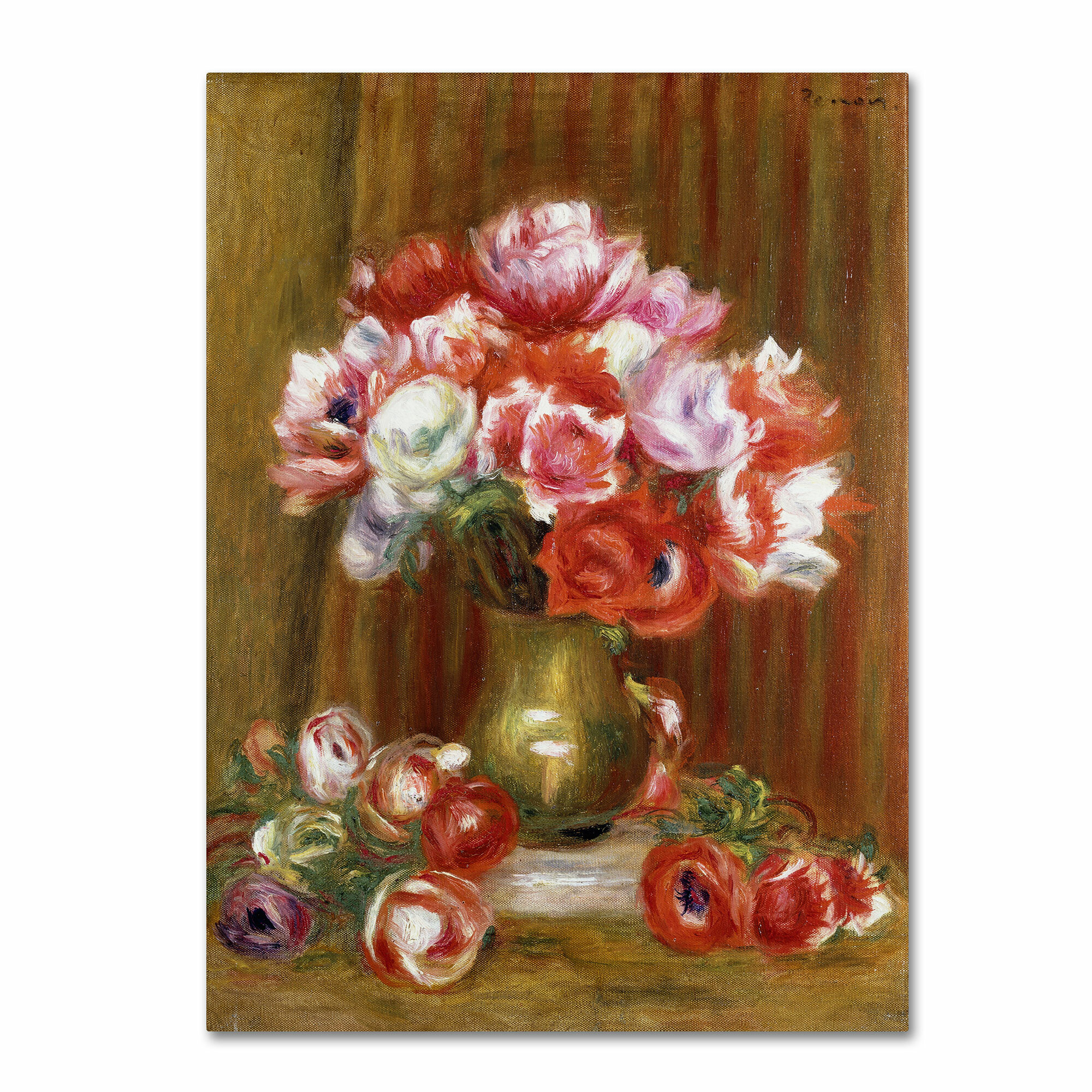 The circus Fernando by Pierre-Auguste Renoir Giclee Fine ArtRepro on Canvas