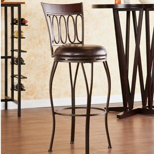 Georgina 30 Swivel Bar Stool Fleur De Lis Living