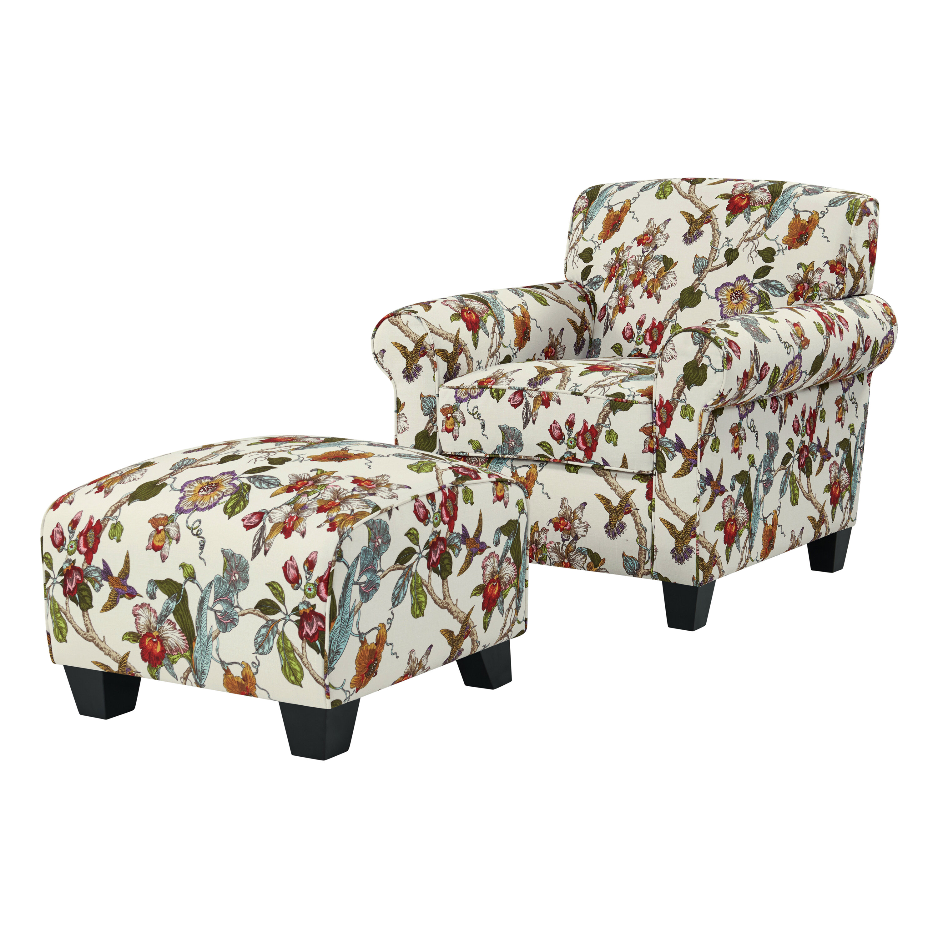 Alcott hill hummel armchair and ottoman reviews wayfair