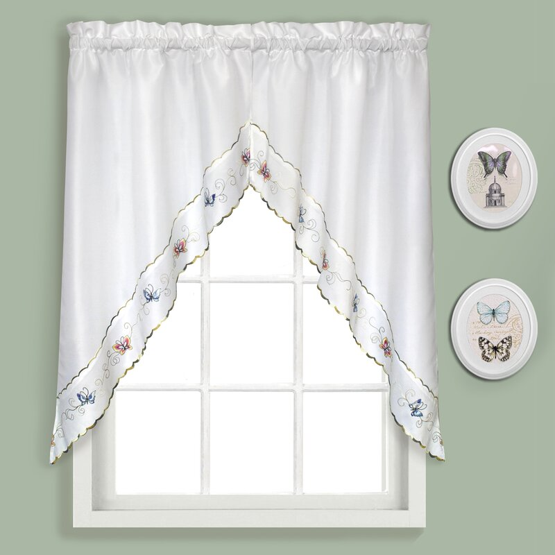 Butterfly Swag Curtain Valance