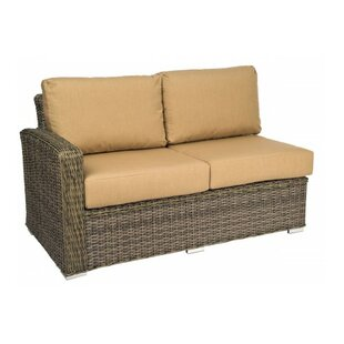 Bay Shore Left Arm Loveseat Sectional Piece with Cushions