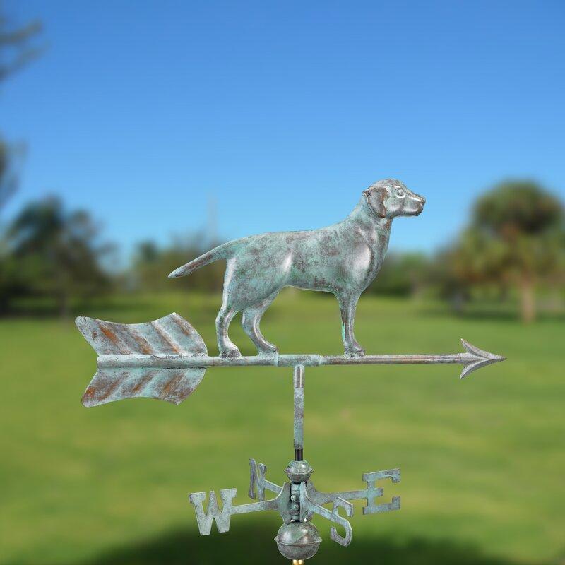 Garden Labrador Retriever Weathervane