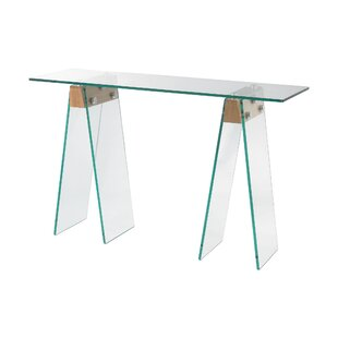 Derrall Console Table by Orren Ellis Wonderful