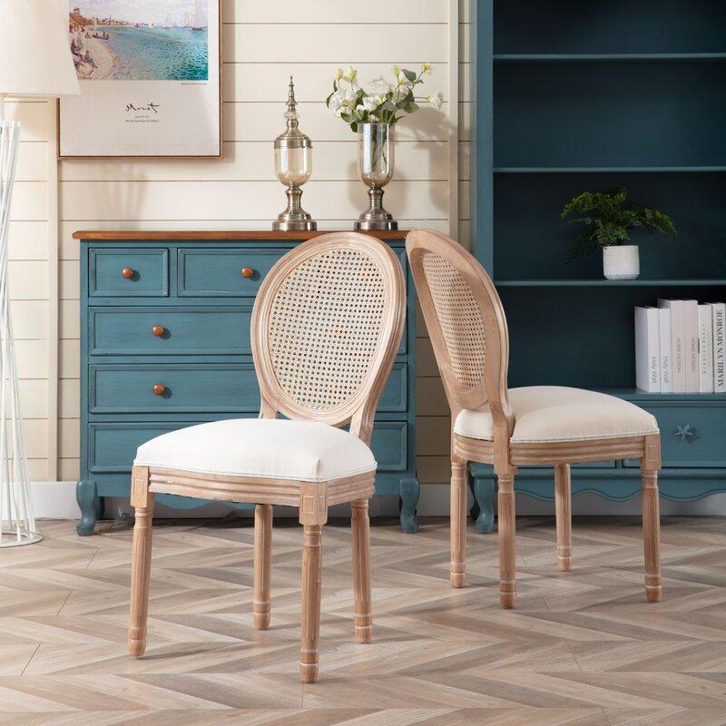 One Allium Way Gladstone Fabric Side Chair Wayfair