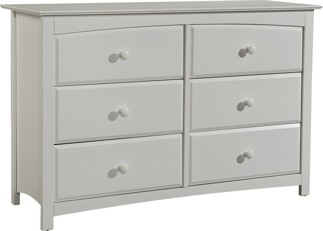 High Quality Kenton 6 Drawer Double Dresser