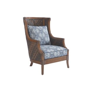 Bali Hai Wingback Chair by Tommy Bahama Home