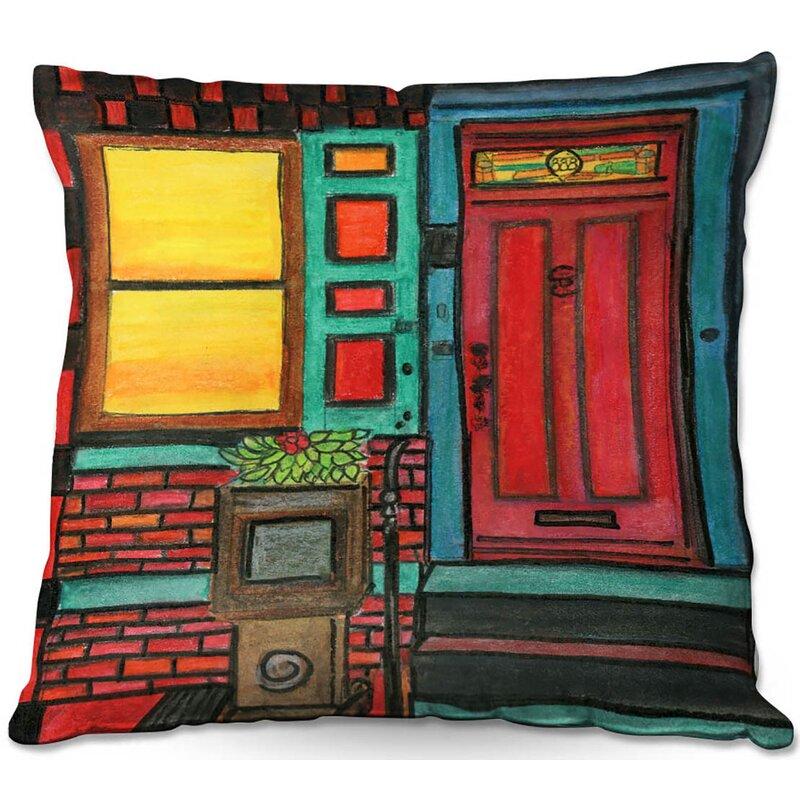 East Urban Home Couch Door 888 Throw Pillow Wayfair