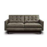 Awe Inspiring Kaleb Tufted Leather Loveseat Wayfair Alphanode Cool Chair Designs And Ideas Alphanodeonline